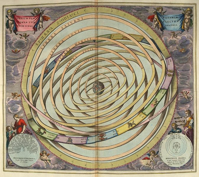 The Ptolemiac Universe