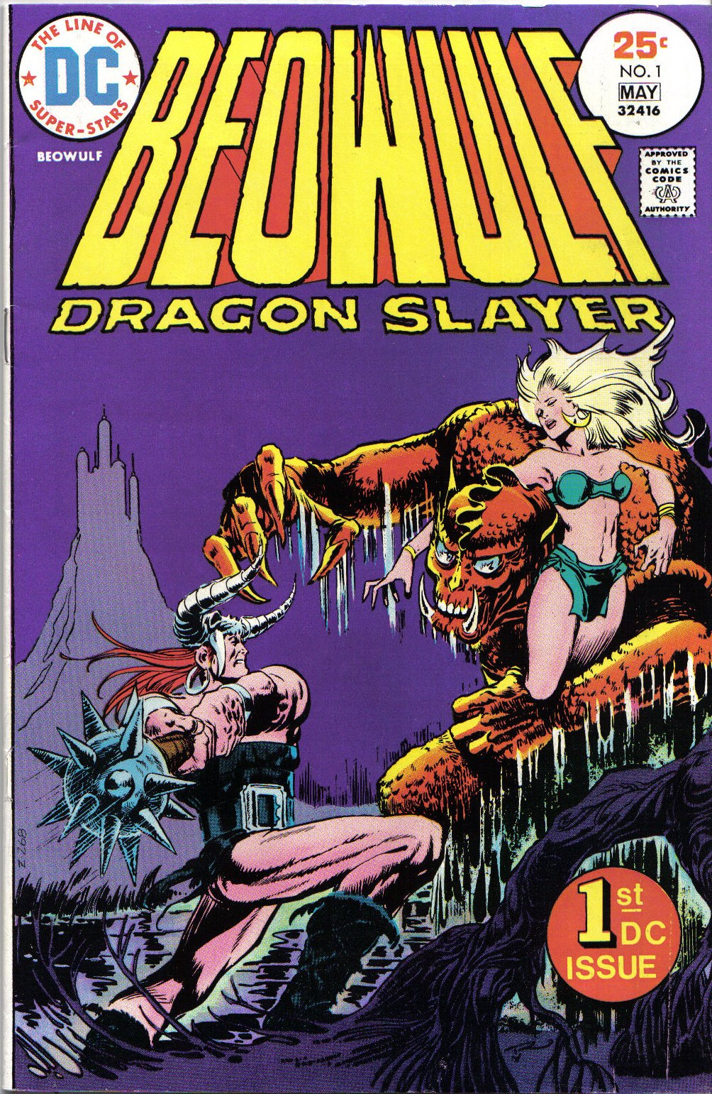 D. C. Comics cover of Beowulf