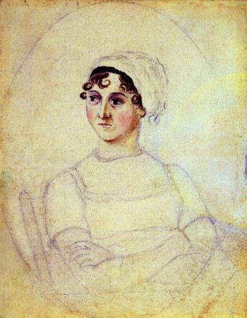 Portrait of a woman seated; with a smirk perhaps