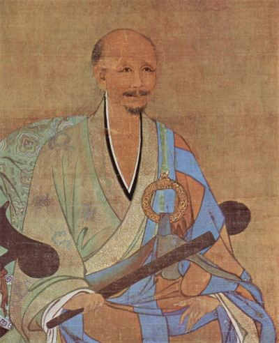 Portrait of Chinese Chan Buddhist monk