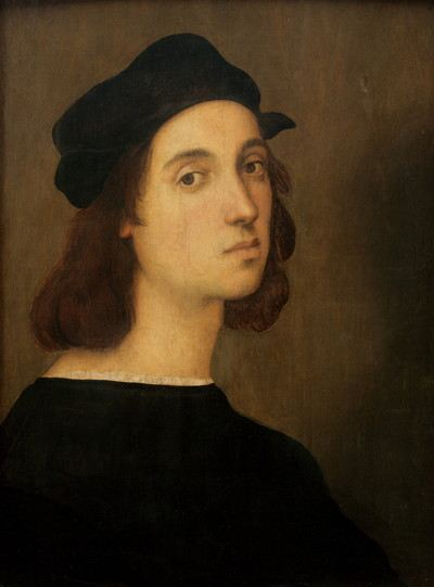 Painting of a young man with a hat