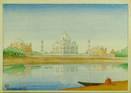 Painting of the Taj Mahal