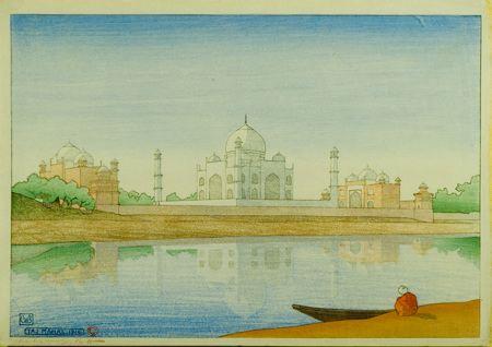 Painting of the Taj Mahal